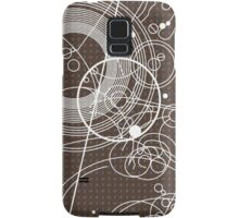 Ten Tie Gallicush - Brown (Bleed) Samsung Galaxy Case/Skin