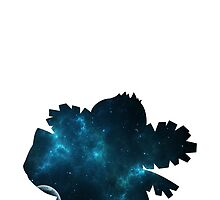 002-Ivysaur -Space Theme Phone Case by TomsTops