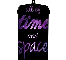 Doctor Who - All of Time And Space by hellafandom