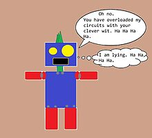 Sarcastic Robot by FlyingDreamer