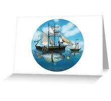 Sea Journey Greeting Card