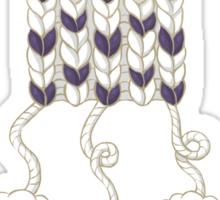 Wool Scarf Sticker