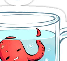 Octopus Tea Sticker