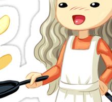 Pancake Master Sticker
