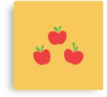 Applejack Cutie Mark Canvas Print