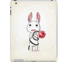 Bunny Flower iPad Case/Skin