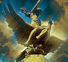 Zeus & Ganimedes by Atman Victor