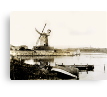 Historical Cley Windmill Canvas Print