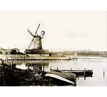 Historical Cley Windmill Photographic Print