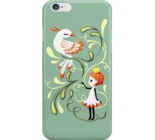 Princess and a Bird iPhone Case/Skin