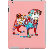 Pug dog graffiti iPad Case/Skin