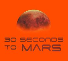 30 Seconds to Mars: T minus 30 seconds to impact Kids Clothes