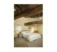 Cley Windmill's Stone Room Art Print