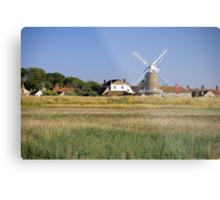 Cley Windmill Panorama Metal Print