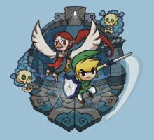 Legend of Zelda Wind Waker Earth Temple T-Shirt Kids Clothes