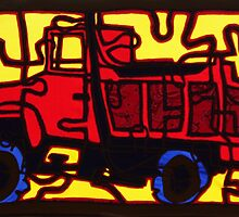 Dump truck (pieces of the puzzle 1) by marialberg
