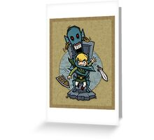 Legend of Zelda Wind Waker ReDead T-Shirt Greeting Card