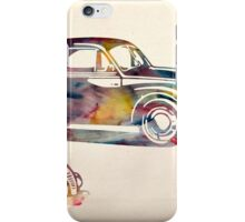 old cars iPhone Case/Skin