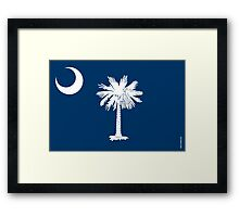 South Carolina State Flag Framed Print