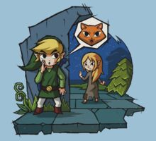 Legend of Zelda Wind Waker Meow T-Shirt Kids Clothes