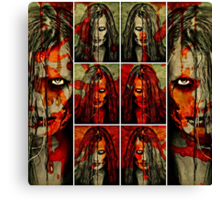 She Will Come For You Canvas Print