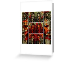 She Will Come For You Greeting Card