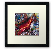The Wounded Framed Print