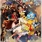The Sandow Bauhaus Trocadero Vaudevilles. by - nawroski -