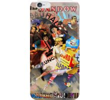 The Sandow Bauhaus Trocadero Vaudevilles. iPhone Case/Skin
