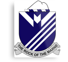 38th Infantry Regiment - The Rock Of The Marne Metal Print