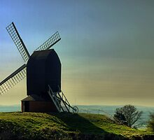 A Variation on Windmills in my Mind (3) by Larry Lingard-Davis