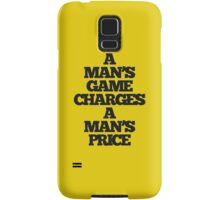 TRUE DETECTIVE MAN'S GAME Samsung Galaxy Case/Skin