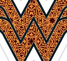Pattern Wonder Woman Sticker