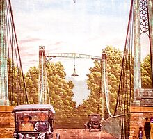 VERTICAL MURAL OF FRANKLIN OHIO by pjm286