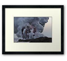 Kilauea Volcano at Kalapana 10 Framed Print