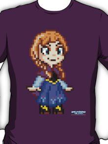 Frozen Ana - Pixel Art T-Shirt