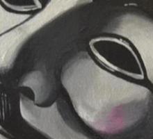 V is for Vendetta Sticker