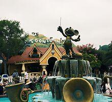 Mickeys toon town  by Disneyland1901