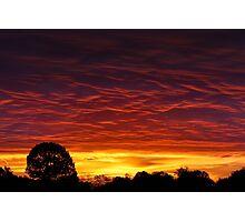 Sunrise Intensity Photographic Print