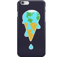 lick global warming iPhone Case/Skin