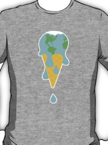 lick global warming T-Shirt