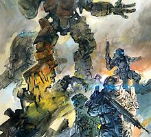 Titanfall Artwork Design by MikuBear
