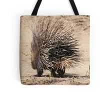 Porcupine and its Quills - African Wildlife Tote Bag