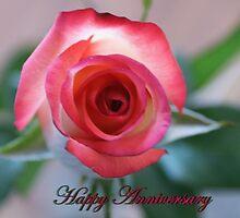 Happy Anniversary; Woodside Florist, Whittier, CA USA by leih2008