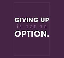 Chasing Life - Giving up is not an option by D. Abdel.