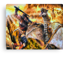 The Final Fight Canvas Print