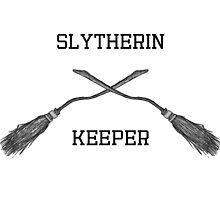Slytherin - Keeper by queen-victoria
