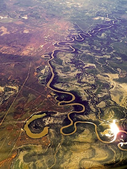 The Mighty Murray Winds its Way by TonyCrehan