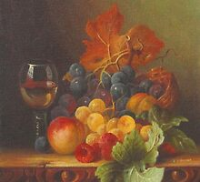 End Of Summer Fruits by Raymond Gilronan