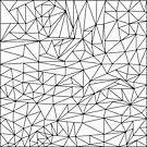 black and white geometric pattern by sledgehammer